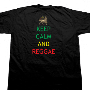 keep calm and reggae tee